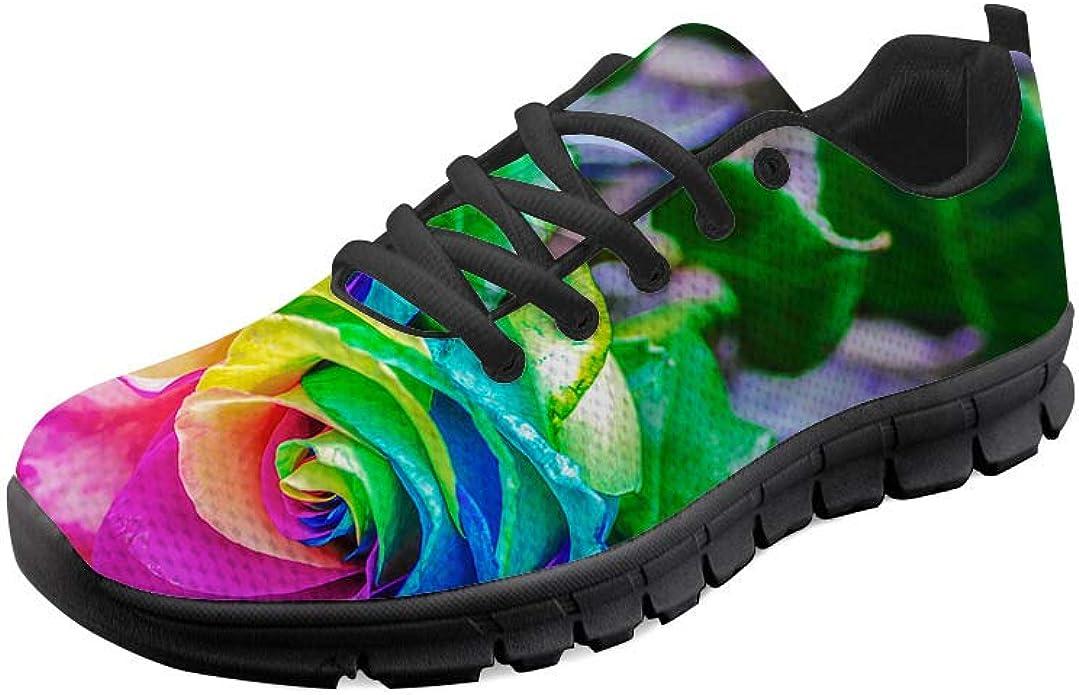 AXGM - Zapatillas de Deporte para Hombre, diseño de Flores, Transpirables: Amazon.es: Zapatos y complementos