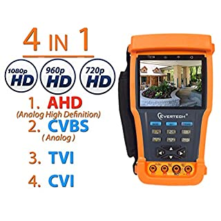 Cctv testerpro do it yourselfore evertech ahd cvi tvi and analog 4in1 cctv tester pro 35 tft lcd monitor video solutioingenieria Image collections