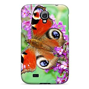 Samsung Galaxy S4 Tdx1326yvsO Custom Vivid Butterfly Pictures Excellent Cell-phone Hard Cover -KellyLast