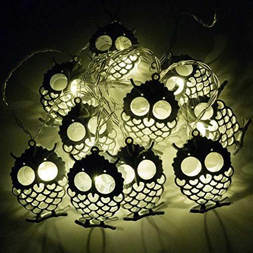 Owl Shaped Patio Lights