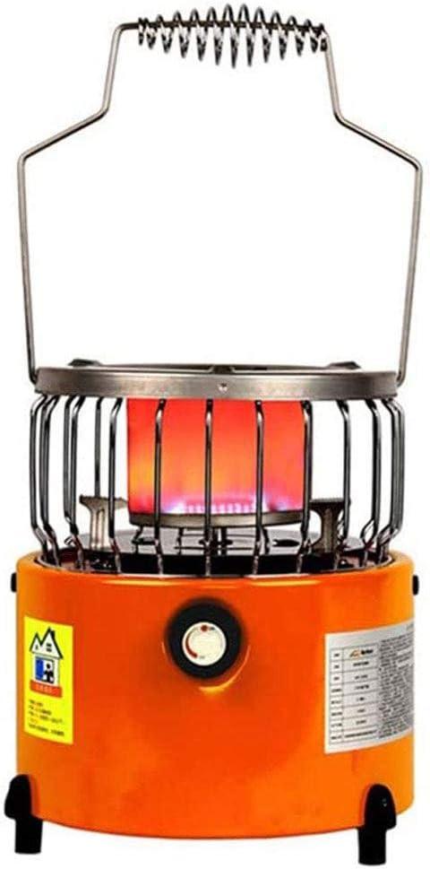 Calefacción Calentador De Pesca En Hielo De 2000 Vatios, Mini Calentador De Gas Licuado Portátil para Exteriores, Calentador De Gas con Parrilla De Bajo Consumo De Energía para Camping Y Jardín