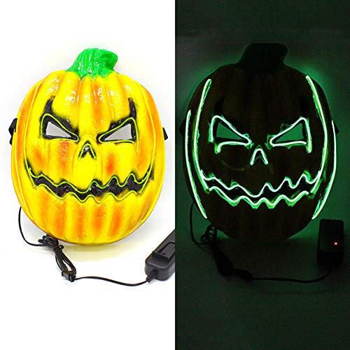 Pumpkin Morphmask - Pannow LED Horror Pumpkin Mask Monster