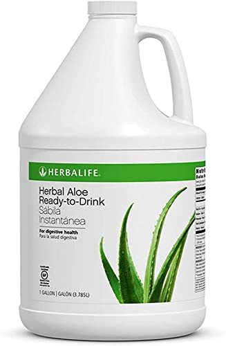Herbal Aloe Ready-to-Drink 1 Gallon Soothes Stomach Supports Healthy Digestion