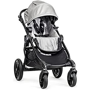 Baby Jogger City Select Stroller In Silver, Black Frame, BJ23412