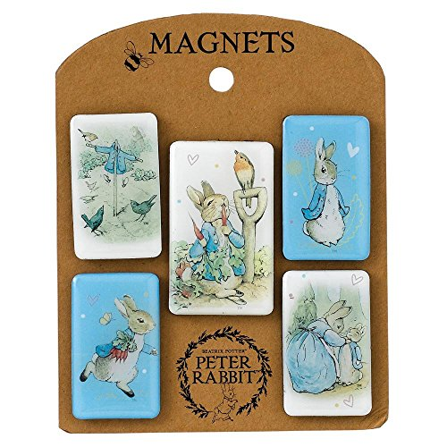 Luck Beatrix Potter Peter Rabbit Magnet Set by Luck