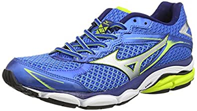 MizunoWave Ultima 7 - Zapatillas de running hombre, Azul (electric blue/lemonade), 39
