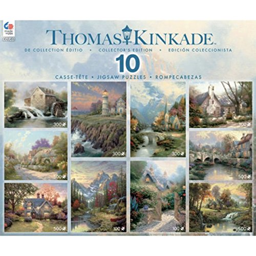 Thomas Kinkade Collector's Edition 10 Jigsaw Puzzle 3801-14