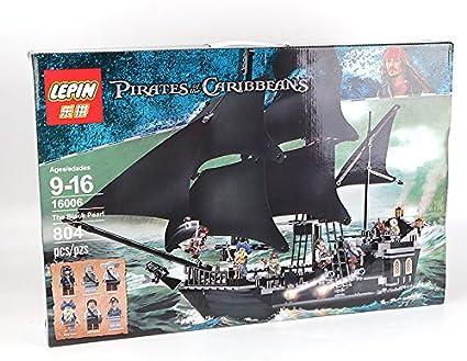 Die Black Pearl Schiff Piraten der Karibik Modell Bausteine Set 804 Stück DE***