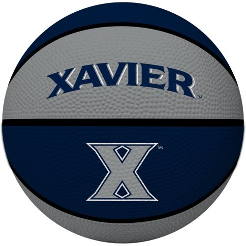 NCAA Xavier Musketeers Crossover Full Size Basketball by Rawlings ()