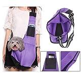 FidgetGear Single Shoulder Bag Handbag Outdoor Stroll Pouch Sling Pet Dog Cat Carrier Tote