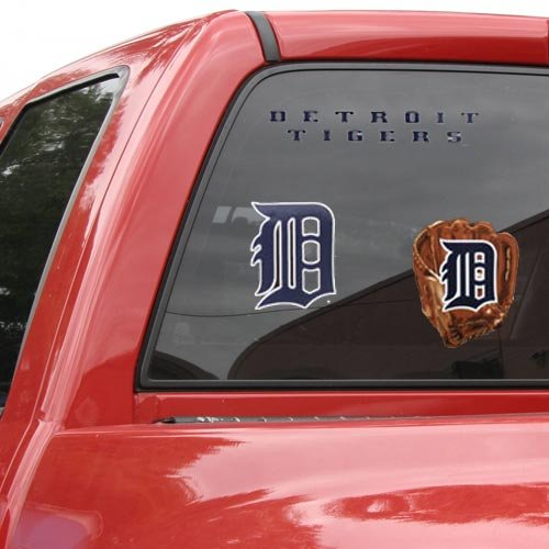 "WinCraft MLB Detroit Tigers Ultra Decal Sheet, 11""x17"", Team Color"