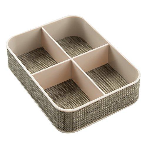 InterDesign Twillo Office Supplies Desk Organizer Tray for P