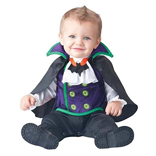 Count Cutie Toddler Costumes - King's Baby Cartoon Animal Costume Infant Flannel Hooded Romper Jumpsuit Halloween Costume Cosplay