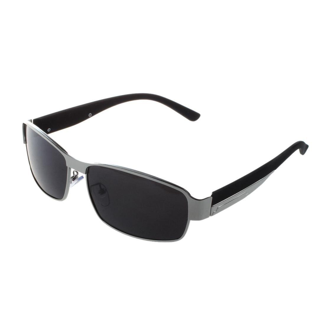 SODIAL R Silber Fashion Driving Glaeser polarisierte Maenner Sonnenbrillen Outdoor Sport Goggles Augenschutz Brille