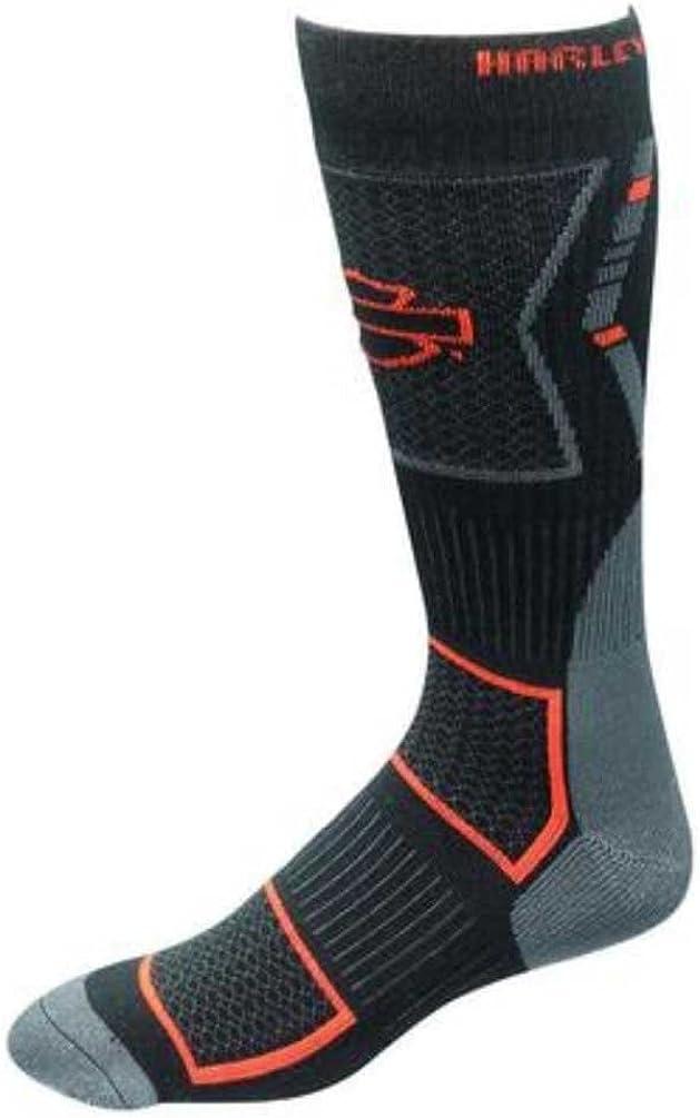 Harley-Davidson Wolverine Men's CoolMax Mid Calf Riding Socks D99085270-001