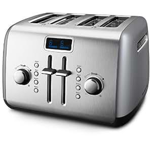 KitchenAid KMT422CU 4-Slice Toaster, Countour Silver
