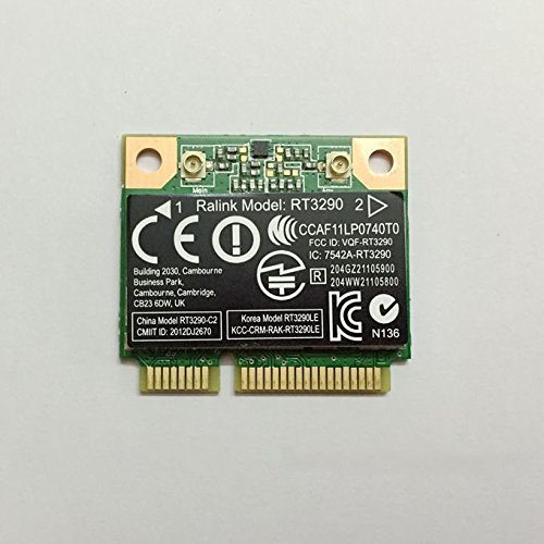 RT3290 Half Mini PCIe PCI-Express Wlan Wireless WIFI Bluetooth BT Card USE for HP Compaq Laptop SPS 690020-001