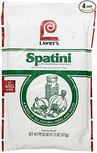 Spatini Spaghetti Sauce and Seasoning Mix, 15-Ounce Packages (Pack of 4) by Knorr