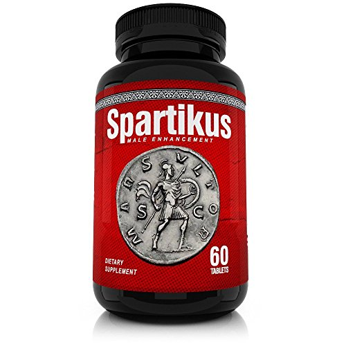 Spartikus All Natural Male Enhancement Sex Pills  Time, Stamina, Girth and Testosterone Booster for Men Boostultimate Pill - Gain Erections Top Male Enhancer Performance Increase (60 Tablets)