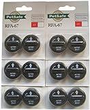 Pet Safe RFA-67D 6-Volt Battery, Economy, 12 Batteries, Pack of 6.