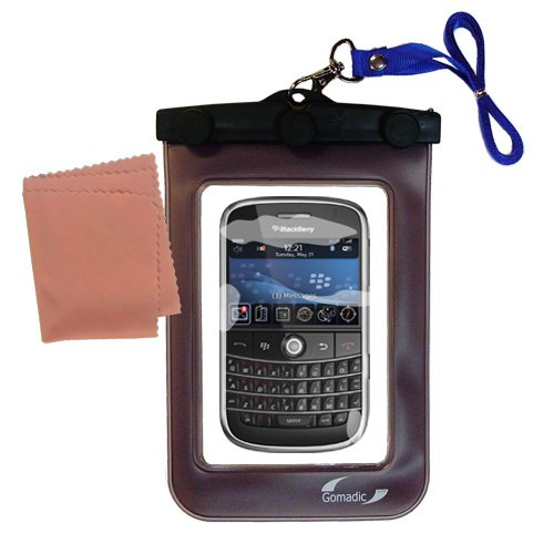 outdoor Gomadic waterproof carrying case suitable for the Blackberry 9000 to use underwater - keeps device clean and dry