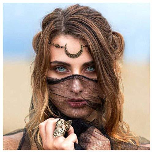 Anglacesmade Bohemian Crescent Forehead Headband product image