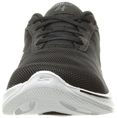 brisk 4 Skechers white Go Shoe M Us Women's 7 Black 5 Performance Walking qtII1xwrfA