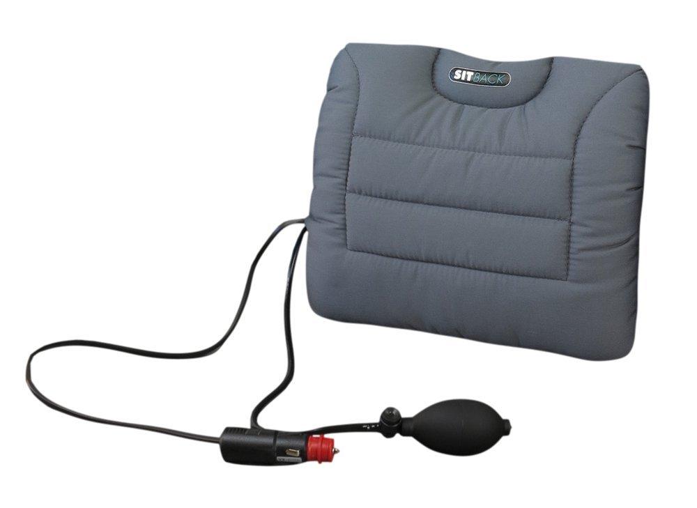 SITBACK Air Avec un chauffage, tissu noir
