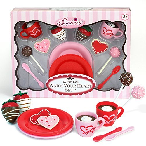 Warm Your Heart Doll Accessories Food Set Perfect for the American Baking Girl 12 piece set
