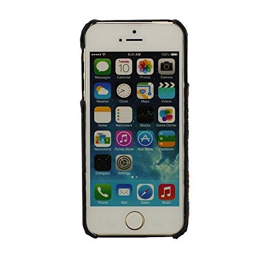 Pullover Tuch Aussehen, Holz Wood Gran, iPhone 5 Hülle, iPhone 5S Hülle, Kompatibel mit iPhone 5 5S, Natürliche Holz Gran
