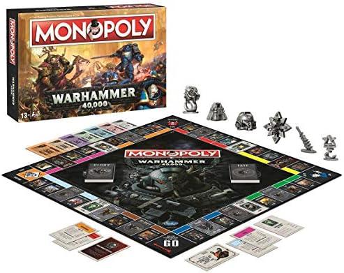 Winning Moves 035484 Warhammer Monopoly: Amazon.es: Juguetes y juegos