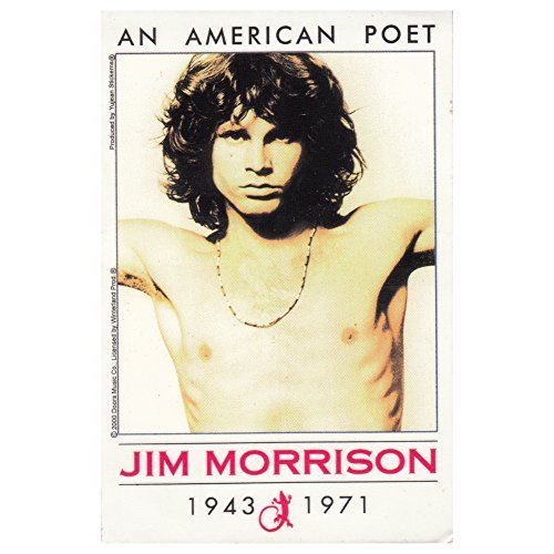 The Doors Jim Morrison An American Poet sticker