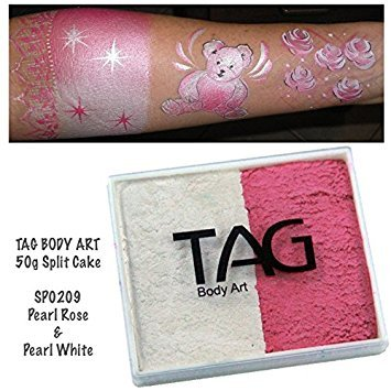 TAG Split Cakes - Pearl Rose and Pearl White (50 gm) ()