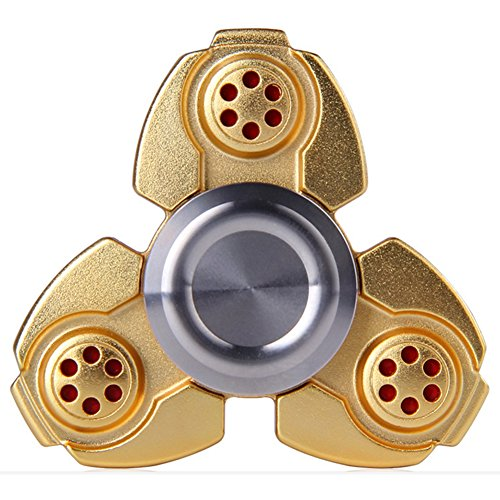 Tri-Spinner Fidget Toy Totoao Hand Spinner EDC Focus Toys For Kids & Adults ADD, ADHD Relieves Stress, Autism, Anxiety And Relax Totoao