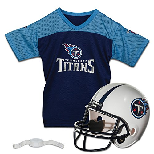Franklin Sports NFL Tennessee Titans Replica Youth Helmet and Jersey Set