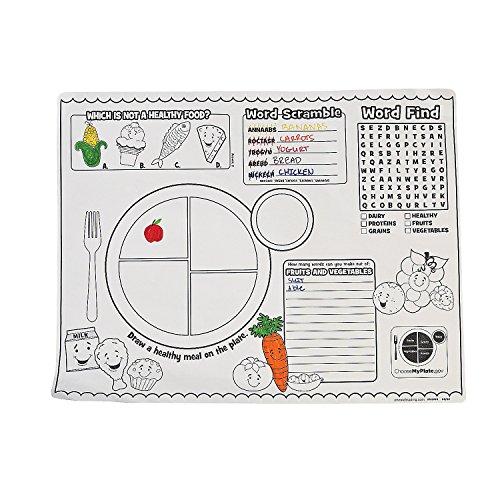 (Fun Express - My Plate Activity Mat - Stationery - Activity Books - Activity Books - 12)