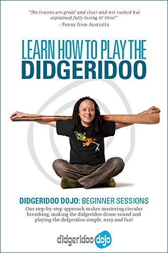 Learn How To Play The Didgeridoo Online - Didgeridoo Dojo Beginner Sessions Lifetime Online Access Pass - Learn the Didgeridoo Drone, Circular Breathing, Basic Rhythms & Much More