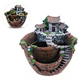 DescriptionJust put the plant pot on your desk, bookshelf, dinning table, living room, hosting room and everywhere, looking at it then you will have a good mood. Suit for small flowers and succulent plants, design a beautiful hanging garden by your o...