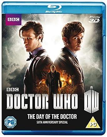 Doctor Who - The Day of the Doctor: 50th Anniversary Special Reino Unido Blu -ray: Amazon.es: Matt Smith, Jenna Coleman, David Tennant, Billie Piper, John Hurt, Nick Hurran, Matt Smith, Jenna Coleman, Steven