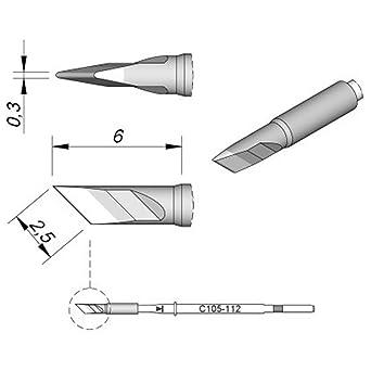 Jbc - Punta de soldador para Nano C105112