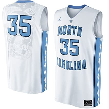 52781c30ce7 Image Unavailable. Image not available for. Color: Nike North Carolina Tar  Heels (UNC) #35 Authentic Basketball Jersey ...