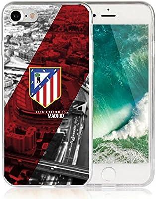 Funda Atletico de Madrid Gel silicona Carcasa + Regalo Protector Cristal Templado para Samsung Grand Neo