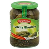 Crunchy Gherkins, German Pickles (Hengst.) 24.3oz