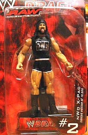 WWE Draft Raw Limited Edition of 10,000 #2 X-Pac Jakks