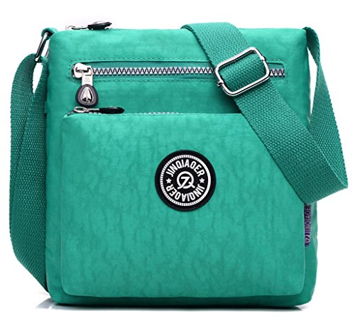 Cross-body Bag,Fashion Messenger Bags,Water-resistant Nylon Purses and Shoulder Handbags for Women&Girls