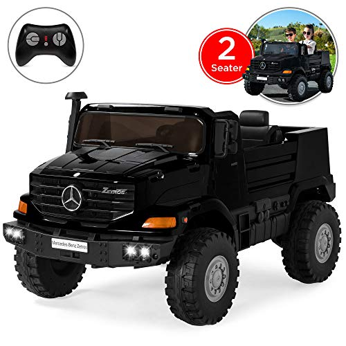 Best Choice Products Kids 24V 2-Seater Mercedes-Benz Ride On SUV w/ Remote Control, 3.7 MPH, Black