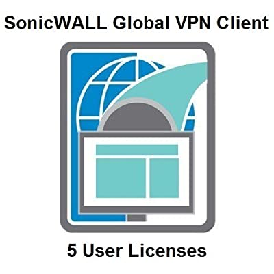 SONICWALL 01-SSC-5316 SonicWALL Global VPN Client Windows - 5 Licenses