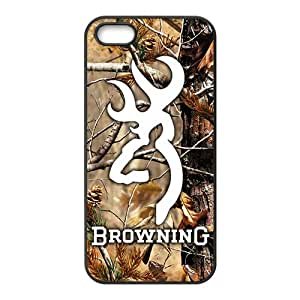 Happy Autumn scenery Browning Cell Phone Case for Iphone 5s
