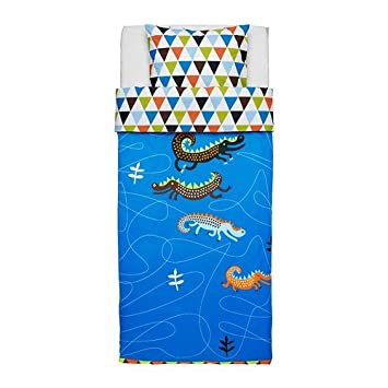 Ikea Kinder Bettwäsche Garnitur Drachen Drakdjur 140 X 200 Amazon