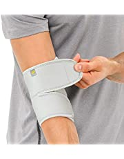 Bracoo Elbow Brace, Reversible Neoprene Support Wrap for Joint, Arthritis Pain Relief, Tendonitis, Sports Injury Recovery, ES10, 1 count
